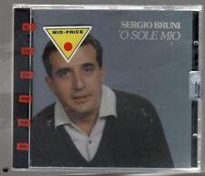 SERGIO BRUNI 'O SOLE MIO CD SIGILLATO!!!