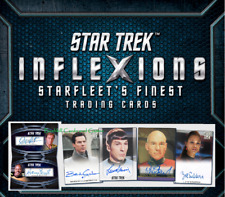 Star Trek Inflexions Starfleet's Finest COMPLETE MASTER SET w/Onyx & Parallels