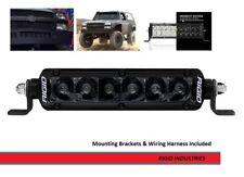 Rigid Industries SR-Series PRO Midnight Edition 6 Inch Spot Optics Light Bar