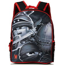 NEW OFFICIAL World of Warriors Boys Kids Sports Backpack Rucksack School Bag