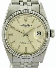 Rolex Oyster Perpetual Datejust Vintage Herren-Armbanduhr Ref.1603 Stahl/WG 1974