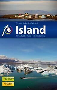 Reiseführer Island 2018/19+ Wanderungen Michael Müller Verlag, UNGELESEN wie NEU