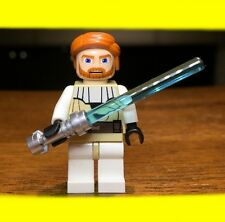 LEGO STAR WARS CLONE OBI-WAN KENNOBI GENUINE AUTHENTIC MINIFIGURE JEDI #7676