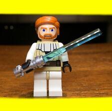 LEGO STAR WARS CLONE OBI-WAN KENNOBI GENUINE AUTHENTIC MINIFIGURE JEDI #7676