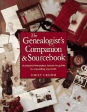 Genealogist's Companion and Sourcebook by Emily Anne Croom (1994, Paperback)