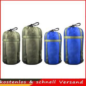 Outdoor Camping Schlafsack Kompressionssack Hängematte Aufbewahrungsbeutel DE