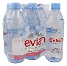 Evian - Natural Spring Water 16.9 oz. Bottles - 6 Pack