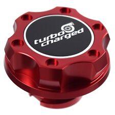 Rojo Billet Racing Tapa Aceite Motor Relleno Turbo Cargado para Ford 1/4 Vuelta