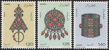 ALGERIE N°693/695** bijoux, 1978 Algeria  jewelry SC#621-23 MNH