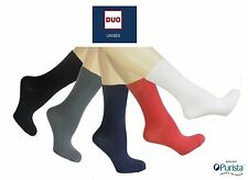 Patternless Machine Washable 4-11 Multipack Socks for Women
