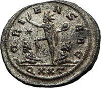 AURELIAN Original 274AD Ticinum Authentic Genuine Ancient Roman Coin SOL i65432