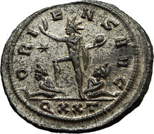 AURELIAN Original 274AD Ticinum Authentic Genuine Ancient Roman Coin SOL i65432