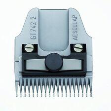 Aesculap Favorita 2 GT742 2 mm Scherkopf Schneidsatz Wechselschneidsatz neu OVP
