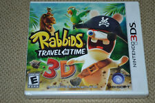 Rabbids: Travel in Time 3D (Nintendo 3DS, 2011) Brand New Fast Shipping