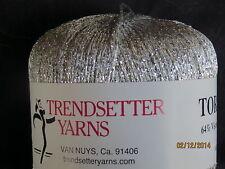 "Trendsetter ""TOREADOR"" Yarn in #101 Silver"