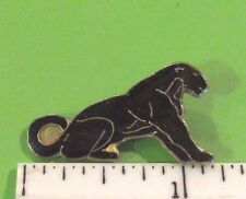 Black PANTHER - hat pin , lapel pin , tie tac , hatpin GIFT BOXED (E)