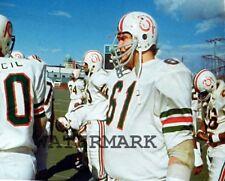 1970's CFL Montreal Alouettes Gordon Judges Vintage Helmet Logo 8 X 10 Photo