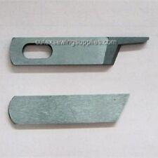 Upper & Lower Knife Set For Juki MO-600 & MO-700 Series Sergers Overlock Machine