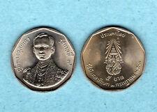 1988 42nd Year Reign King Bhumibol Adulyadej  Rama IX Thailand 5 Baht Coin Thai