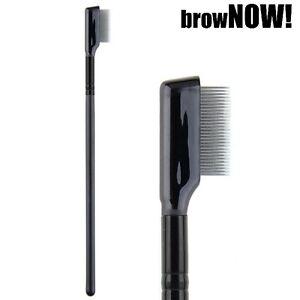 browNOW! - Eyebrow Shaping Brush Precision Brow Definition Comb - Metal Teeth