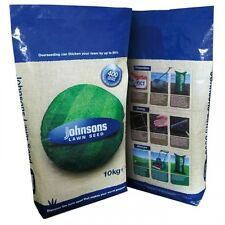 JOHNSONS HARD WEARING FAST GROWING SHADY PREMIUM LAWN GRASS SEED VARIOUS SIZES