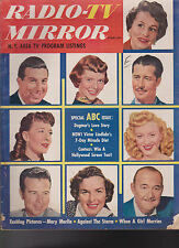 Radio TV Mirror February 1952 Victor Borge Don Ameche Ted Mack Ricky Nelson