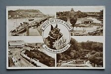 R&L Postcard: Scarborough Multiview Good Luck West Highland Terrier
