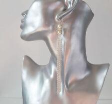 Handmade Hook Pearl Costume Earrings