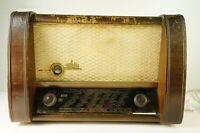 Tonfunk GmbH Violette W 250 D  Röhrenradio defekt Bastler Teileträger  Pro-773