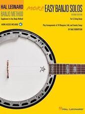 More Easy Banjo Solos : For 5-String Banjo (2014, Paperback / Mixed Media,...