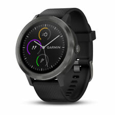 Garmin Vivoactive 3 Black w/ Slate | 010-01769-11 | AUTHORIZED GARMIN DEALER