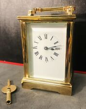 Fully Restored, 24 Carat Gold Plated Carriage Clock