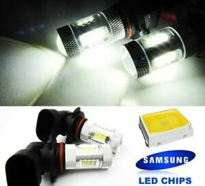 2x SAMSUNG 15 SMD LED HB3 For 16-18 FIAT 124 SPIDER Projector DRL Light Bulbs
