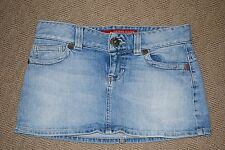 GUESS Jeans 81 Denim Jean Mini Skirt Size 24 Stretch EUC Juniors Womans XS