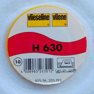 Meterware aufbügelbares Volumenvlies Freudenberg H630 H 630 Vlieseline 90cm br.