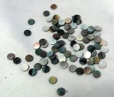 Black Abalone Inlay Material  for guitar, madolin, ...60 pieces Dots 7mm VB-7