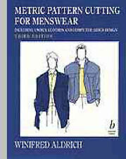 Metric Pattern Cutting for Menswear, Good Condition Book, Aldrich, Winifred, ISB
