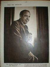 Photo article UK writer J B Priestly 1949