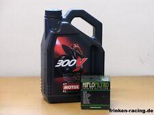 Motul aceite 300v/filtro aceite Aprilia Dorsoduro 1200/ABS también ATC BJ 11 - 14