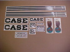 Case SC decal set, complete and new