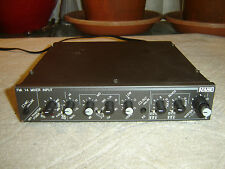 Rane FMI 14, Mixer Input, Preamp, 3 Band Equalizer, Vintage Unit, As Is
