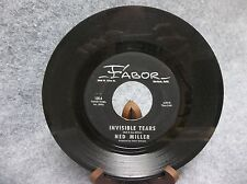 45 RPM Record-Ned Miller-Old Restless Ocean & Invisible Tears-Fabor Robison