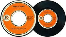 Philippines EDDIE PEREGRINA You're All I Need OPM 45 rpm Record