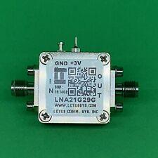 Amplifier LNA 2.5dB NF 21 - 29 GHz 20dB Gain 9dBm P1dB 2.92mm