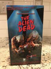 The Alien Dead VHS Cult Horror Gore Splatter Sci-fi Genesis Home Video