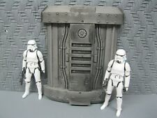 Star Wars Award Winning Custom Cast Space Wall Panel Diorama Parts Free Shipping