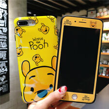 Blu Ray Winnie Piglet Case fr iPhone 11 Pro Max XS 8 +Front Film Glass Protector