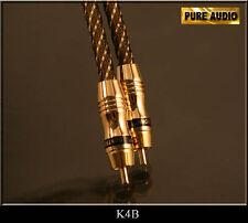 1,0 m Cinch auf Chinch Kabel Chinchstecker Audio Digital Koaxial Subwoofer Meter