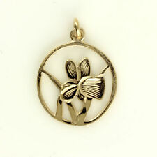 Rose Gold Flowers Plants Fashion Necklaces & Pendants