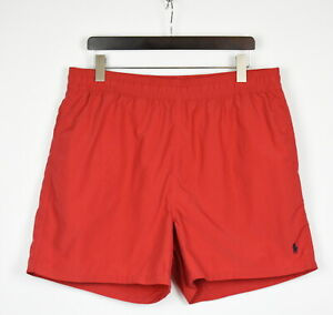 POLO BY RALPH LAUREN Men's XX LARGE Short Red Beach / Swimming Shorts 37214_GS